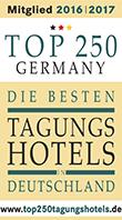 Auszeichnung Top 250 Tagungshotels