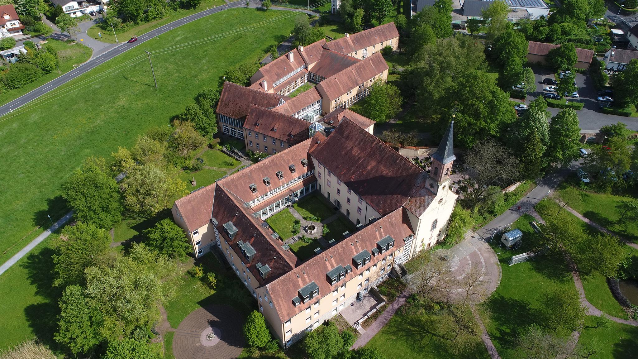 Tagungszentrum Schmerlenbach_vogelperspektive