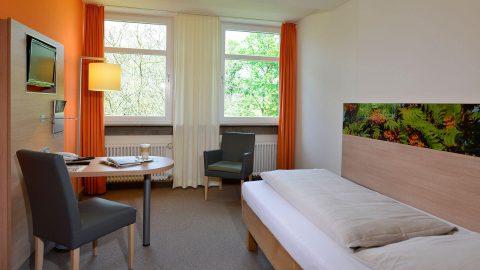 Einzelzimmer Schmerlenbach Tagungszentrum