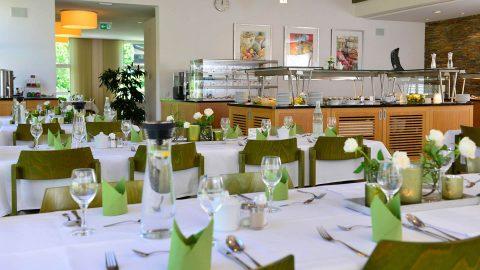 Restaurant Mittagessen Tagungszentrum Schmerlenbach