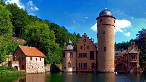 Freizeit Tagungszentrum Schmerlenbach Wasserschloss Mespelbrunn