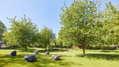 Außenanlage Park Top Tagungshotel Schmerlenbach