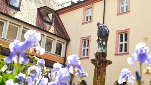 Klostergarten Familienurlaub Wanderurlaub Kurzurlaub Frankfurt Schmerlenbach
